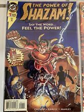THE POWER OF SHAZAM #1-17 JERRY ORDWAY 1996 Comic 1 2 3 4 5 6 7 8 DC 1996 VN/NM
