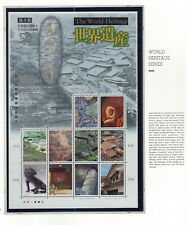 Japan 2008 World Heritage Series 4 Nh Scott 3067 Sheet of 10 Stamps
