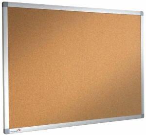 Cork Notice Board Pinboard 1200mm x 1000mm DBD2886