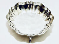Stunning Vintage footed Candy dish silver Plated by Oneida
