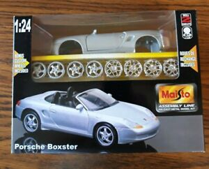 Maisto 1:24 Porsche Boxster Die Cast Model Kit
