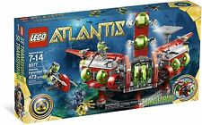 *BRAND NEW* Lego ATLANTIS Exploration HQ 8077