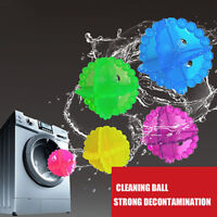 10 pcs ECO Washing Helper Laundry Dryer Ball Fabric Softener Cloth Cleaning Ball