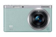 Samsung NX Mini  NXF1 20,5 MP Digitalkamera - Mint (Kit mit ED 9mm Objektiv)