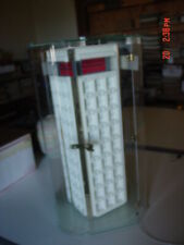 New ListingJewelry Display Case, Clear Acrylic, Spins, Has Anti-Thief Cable, Lock & Key