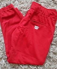 Wilson Women's Red Softball Pants sz L