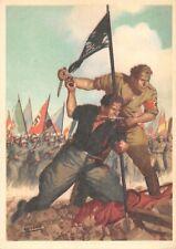 A1429) WW2 FRANCHIGIA LA DISPERATA, CAMICIA NERA E BRUNA CON GAGLIARDETTO. NUOVA