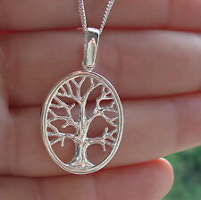 925 Sterling Silver Tree Of Life Pendant for Chain Necklace  Jewellery