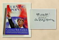 Turning Point by Former Maryland Governor Bob Ehrlich (Signed Autographed Copy)