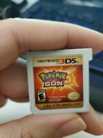 Pokemon Sun (Nintendo 3DS) Game Only! Tested- ship out fast pokemon 3ds shipfast