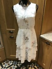 Phase Eight Luca Floral Printed Dress Size 8 New With Tags Original Price £130