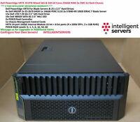 Dell VRTX 19.8TB Mixed 4.8TB SSD & 15TB SAS 64 Cores 256GB 5U Rack Config