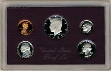 US MINT 1985 5 COIN PROOF SET IN ORIGINAL GOVERNMENT PACKAGE