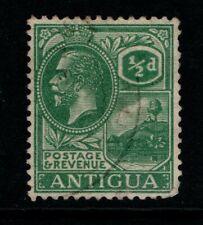 Antigua 1921 1929 King George V ½d Half Penny SG62 Used