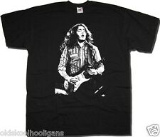 RORY GALLAGHER T SHIRT - ON STAGE PHOTO GREAT BLUES T SHIRT