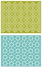 Lifestyle Crafts GooseBumpz, Double Pack, A2 Embossing Folders TILE~ EF0028