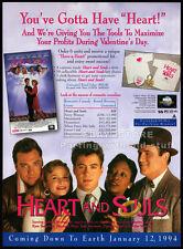 HEART and SOULS__Original 1993 Trade AD promo__KYRA SEDGWICK__ROBERT DOWNEY JR