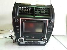 TOYOTA CAMRY STEREO/HEAD UNIT 6.1in TOUCH SCREEN (P/N ON FACE 100035), ASV50/AVV