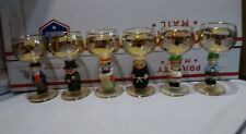 GOEBEL Hummel Figurine Wine Glasses Set of Six Made in Germany