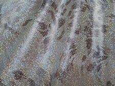 2 yards stretch spandex lycra fabric with foil decoration animal print