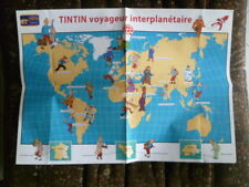 Documents France Hobbies Tintin Collection Duo (Poster to Be Sent and Leaflet