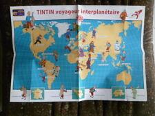 Documents France LOISIRS TINTIN collection DUO (affiche poster et dépliant pubs)