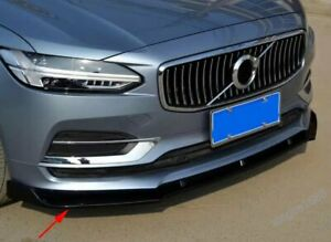 FIT Volvo S90 2016 2017 2018 Car styling  ABS Front bumper front lip cover trim