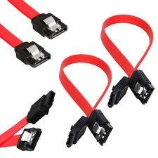 "SATA 3.0 III SATA3 SATAiii 6Gb/s Data Cable Wire for HDD Hard Drive SSD 19"" 50cm"