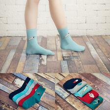 2017 Fashion Hot New Casual Unisex Cotton Harajuku Cartoon Multi-Color Socks