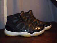 "Nike Air Jordan Retro 11 ""72-10"" Size 10.5"