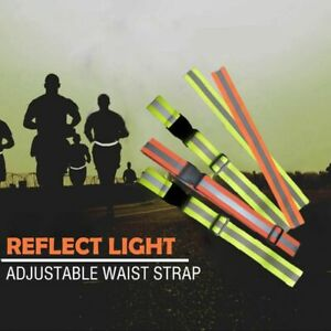 Safety Belt Safety Reflector Tape Fabrics Straps High Visibility Biking Supplies
