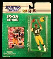 Robert Brooks  Green Bay Packers 1996 Starting Lineup NFL action figure NIB Pack