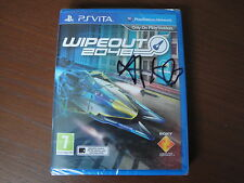 WIPEOUT 2048. PS VITA. SIGNED BY SONY DEV AND FACTORY SEALED.