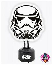 OFFICIAL STAR WARS STORMTROOPER NEON LITE LIGHT MOOD LAMP NEW IN BOX