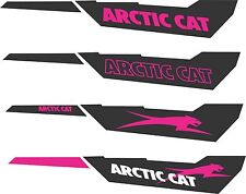 ARCTIC CAT TUNNEL KIT Z1 F570 F8 F5 SNO PRO LXR BEARCAT TURBO DECAL STICKER pink