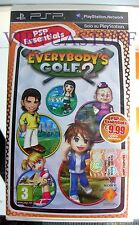 Everybody's Golf 2, Essential, Sony, PSP, EURO, ITA, nuovo, new factory sealed !