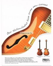 2008 PRS Singlecut Hollowbody  Electric Guitar advertisement