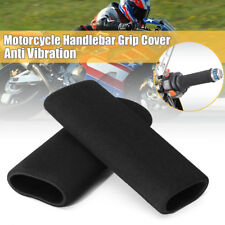 2x Motorcycle Foam Anti Vibration Comfort Handlebar Grip Cover for Honda Harley