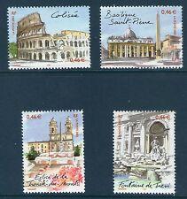 SERIE 3527-3530 NEUF XX LUXE - ROME CAPITALE EUROPEENNE - TTB