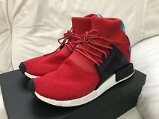 Adidas Originals NMD XR1 Winter Scarlet Red Black Shock Purple Mens Size 9.5 New