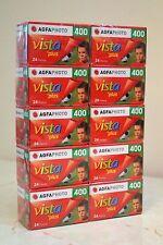 10 Rolls AgfaPhoto Vista Plus Negative 35mm Print Film ISO400 135-24exp