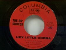 "RIP CHORDS ""HEY LITTLE COBRA / THE QUEEN"" 45"