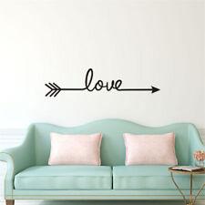 Removable LOVE Arrow Waterproof Window Wall Sticker Room Decal DIY Decoration S