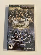 Dissidia 012 [duodecim] Final Fantasy PSP New Sony PSP