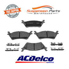 Replacement Rear 4 Disc Brake Pad Ceramic Fits Truck Ford F-150 For 2012 to 2017