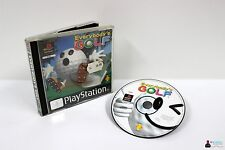 ★ Playstation PS1 Spiel - EVERYBODY´S GOLF - in Hülle OVP ★