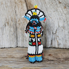 Native American Beadwork Zuni Beaded Shalako by Todd Poncho