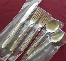 STAR BLOSSOM  Alvin Sterling 5 Piece Place Setting Unused c1959