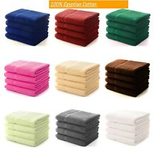 4x Large Jumbo Bath Sheets 100% Egyptian Combed Cotton Big Towels Mega Bargain
