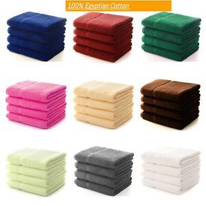 4x Large Jumbo Bath Sheets 100% Egyptian Combed Cotton Big Towels Mega Bargain